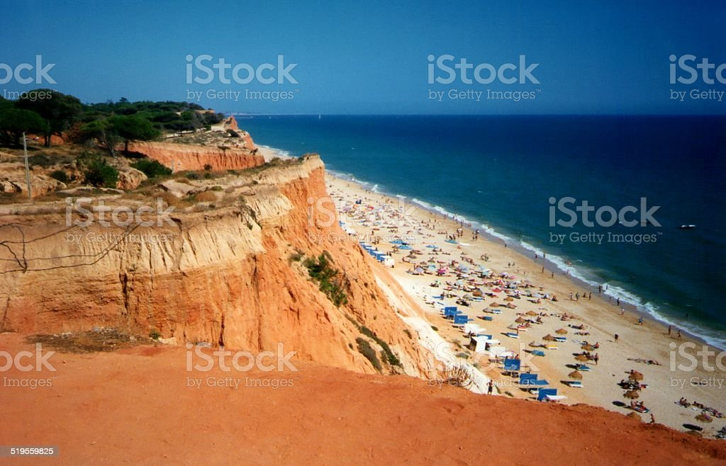 Praia Da Falesia, l'Algarve au Portugal - Photo