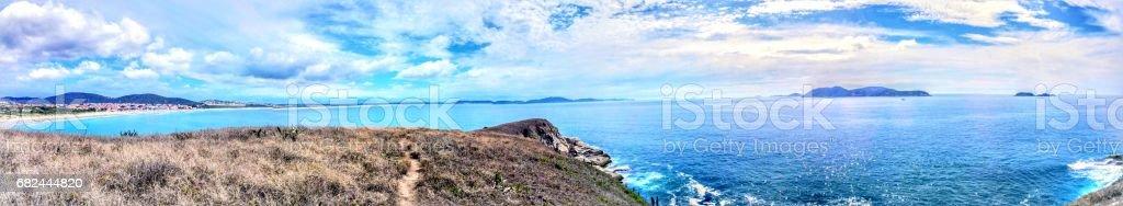 Praia das conchas / Praia do pero royalty-free stock photo