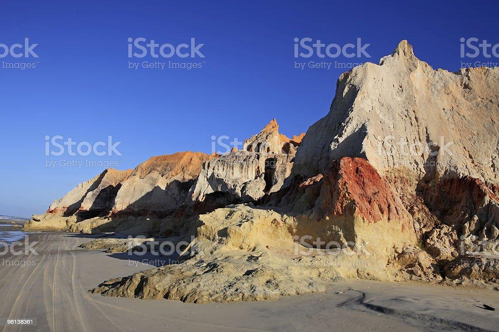 praia das fontes near fortaleza brazil royalty-free stock photo