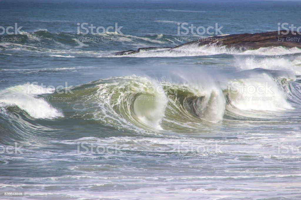 Praia do Diabo stock photo