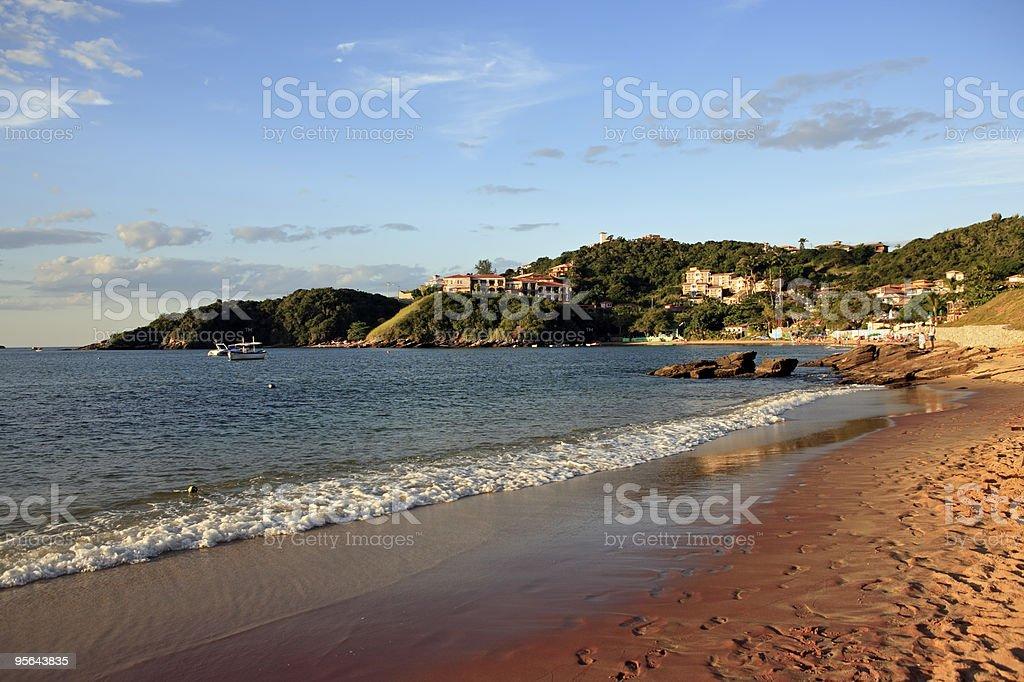 praia dos ossos  buzios stock photo