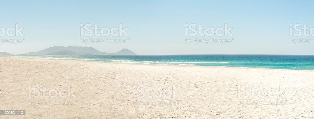 Praia Grande beach - Arraial do Cabo Rio de Janeiro stock photo