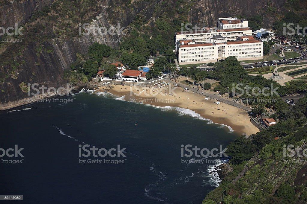 praia vermelha royalty-free stock photo
