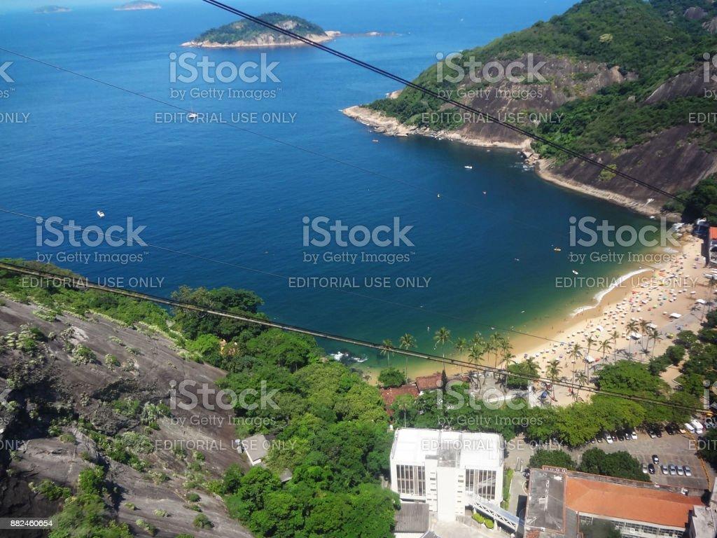 Praia Vermelha - Rio de Janeiro stock photo