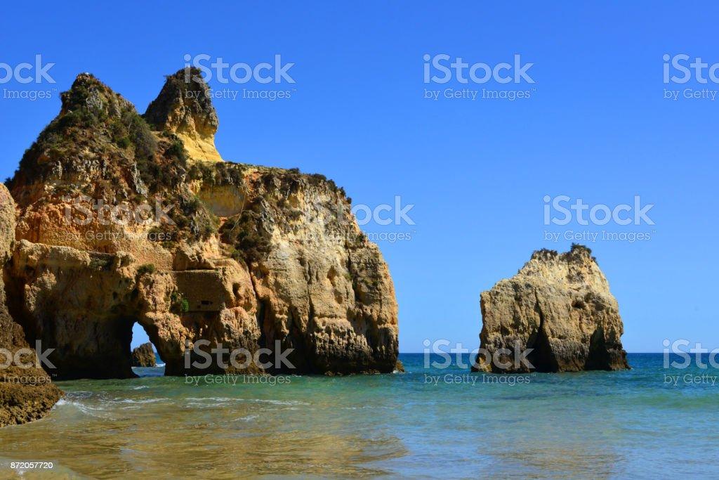 Prainha beach - Algarve, Portugal - fotografia de stock