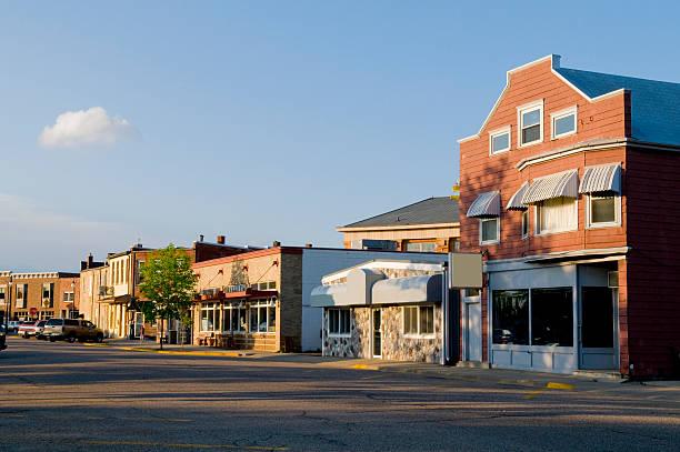прейри-дю-мешочек, штат висконсин - небольшой город стоковые фото и изображения