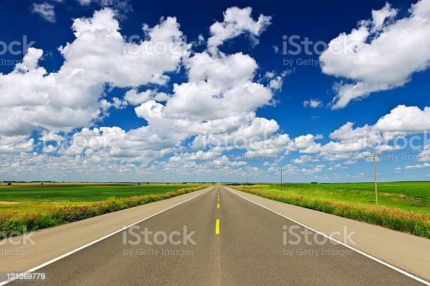 Photo of Prairie highway