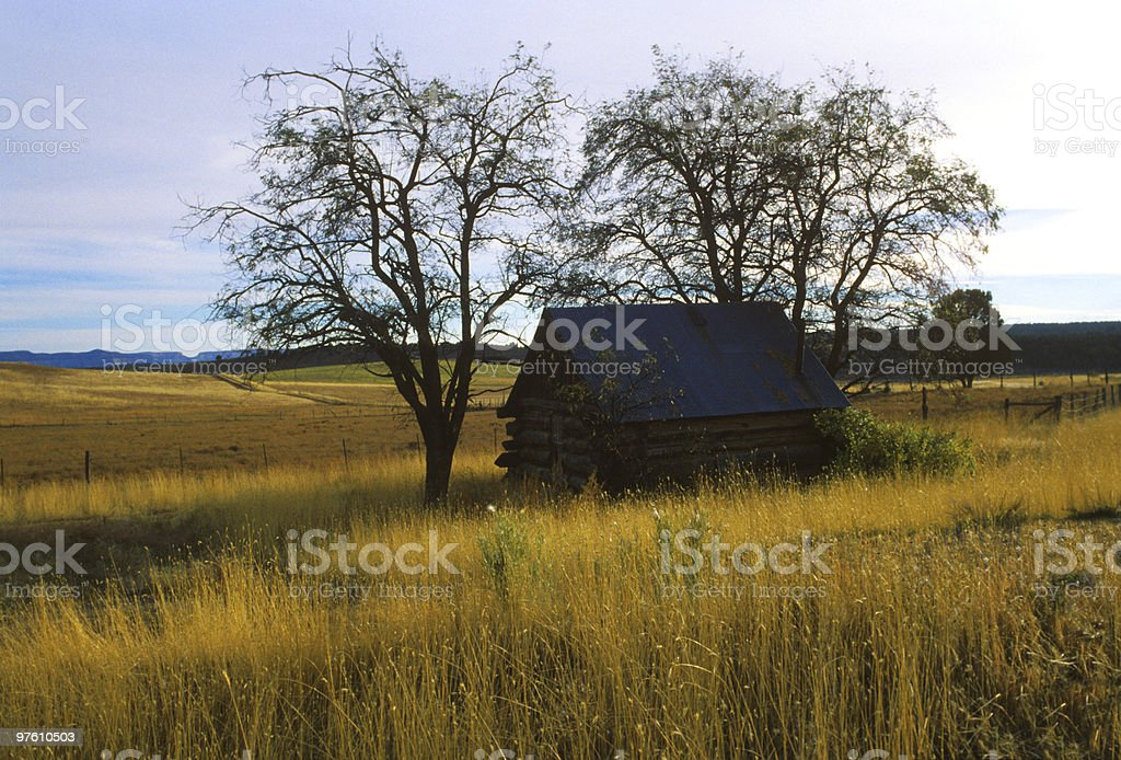 Prairie Home royalty-free stock photo