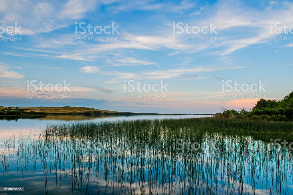 Prairie Lakes stock photo