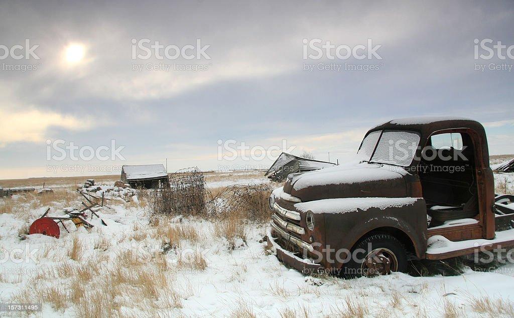 Prairie Remnants 2 royalty-free stock photo