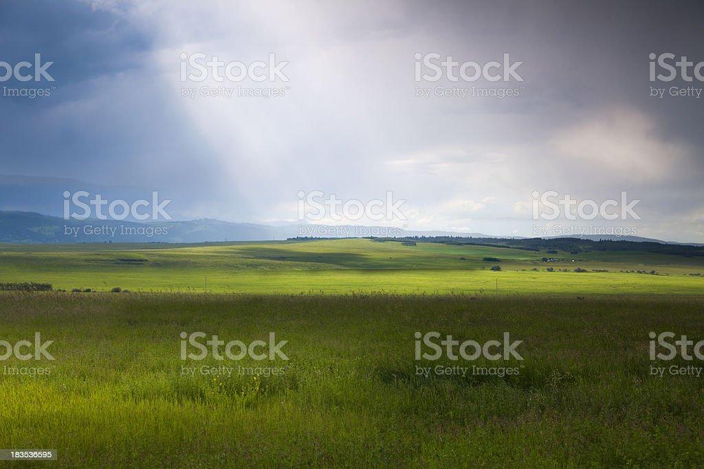 Prairie Storm stock photo