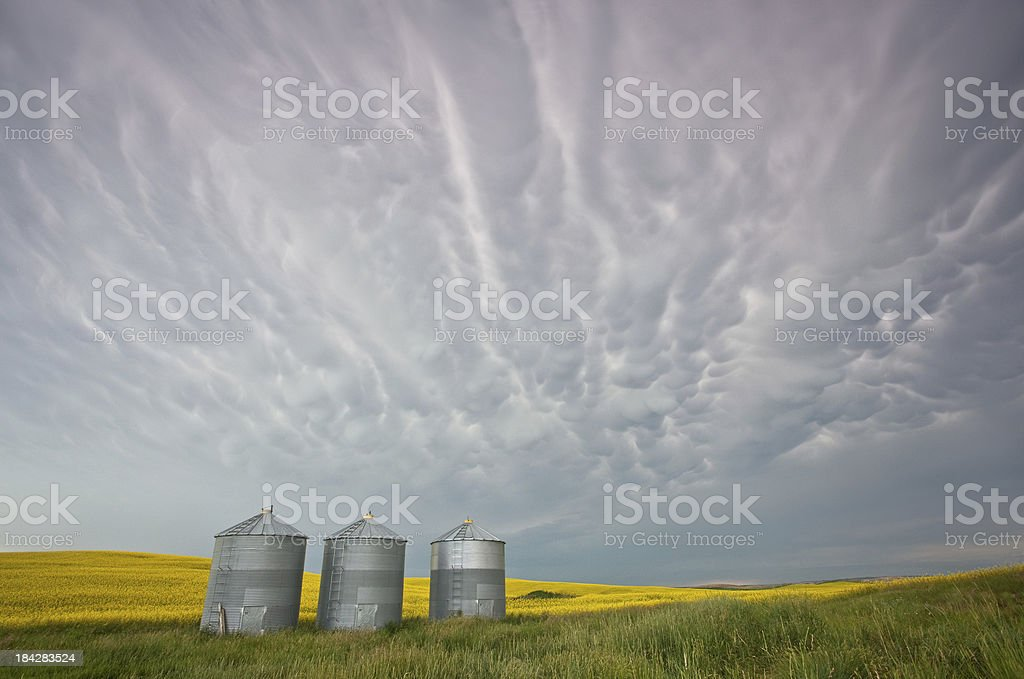 Prairie Storm royalty-free stock photo