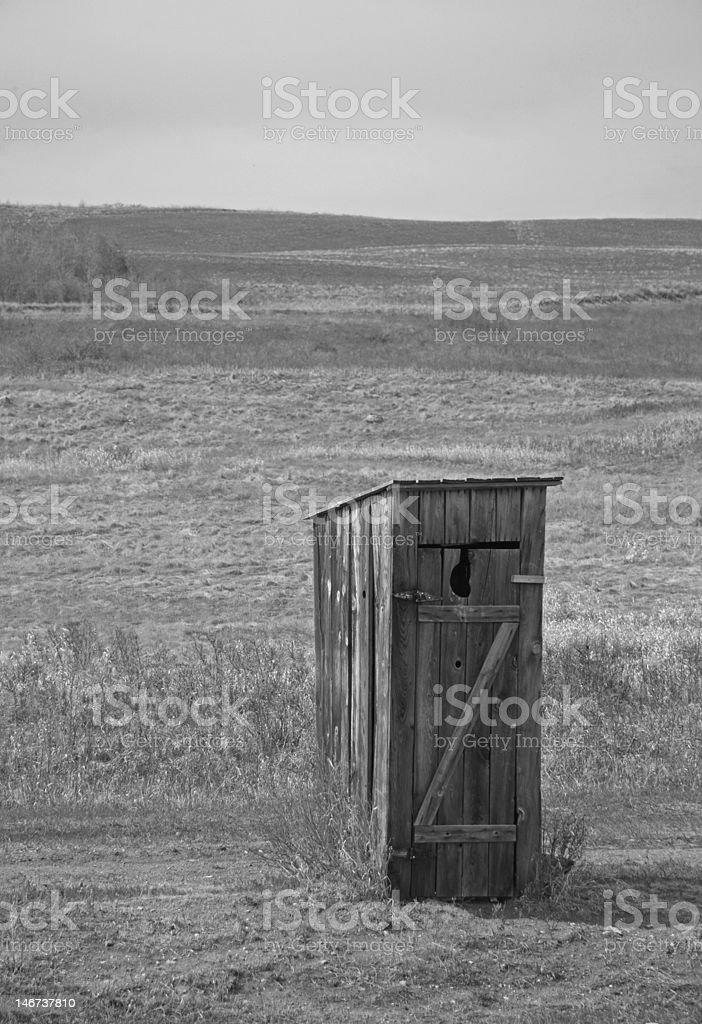 Prairie Throne stock photo