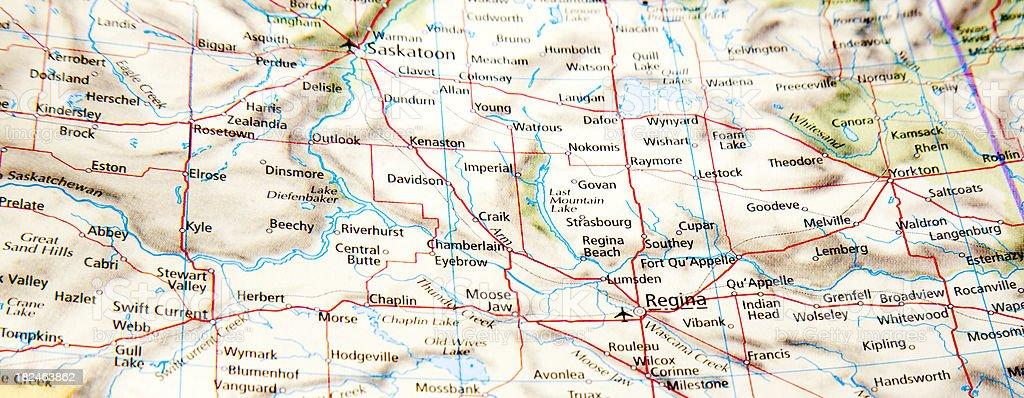 prairie towns royalty-free stock photo