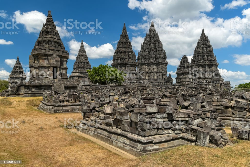 Prambanan stock photo