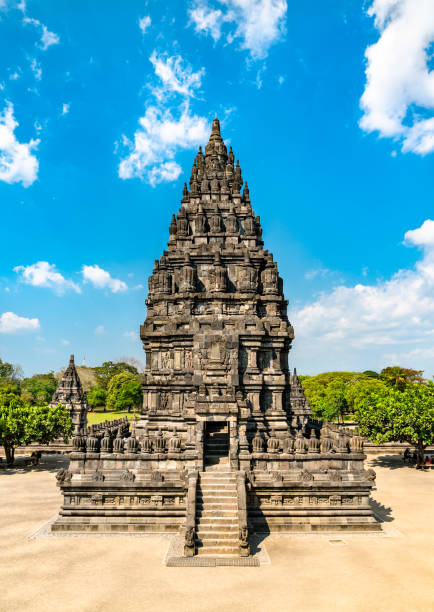 Prambanan-Tempel bei Yogyakarta in Indonesien – Foto