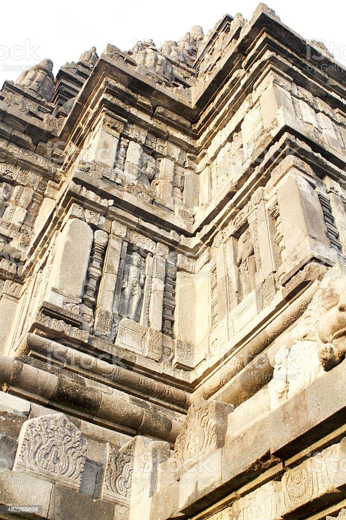 Prambanan Temple stock photo