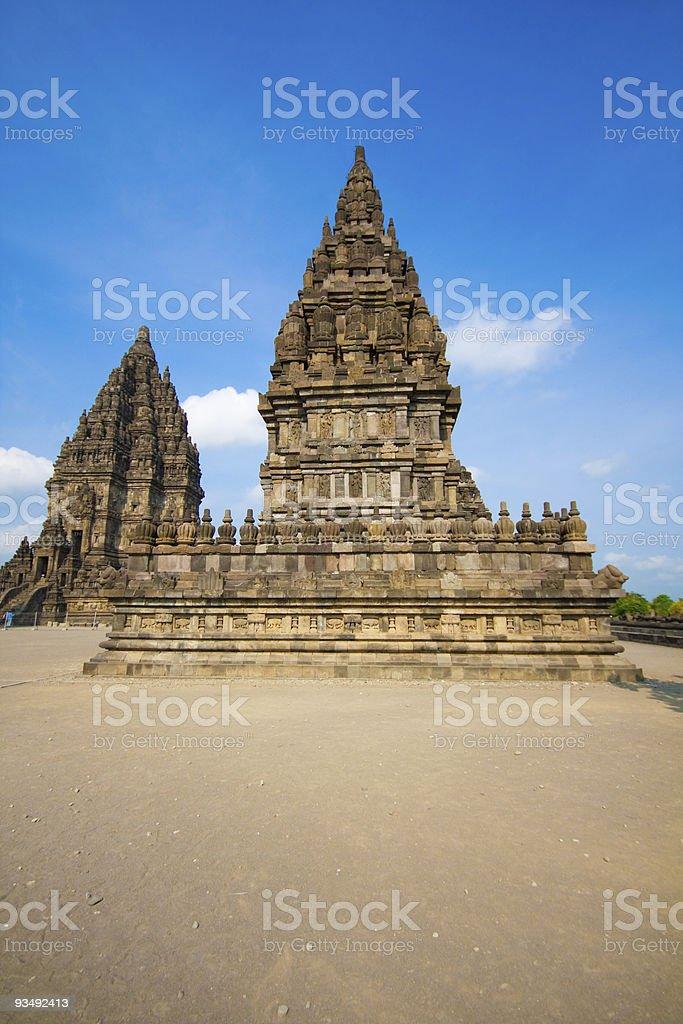 Prambanan temple royalty-free stock photo