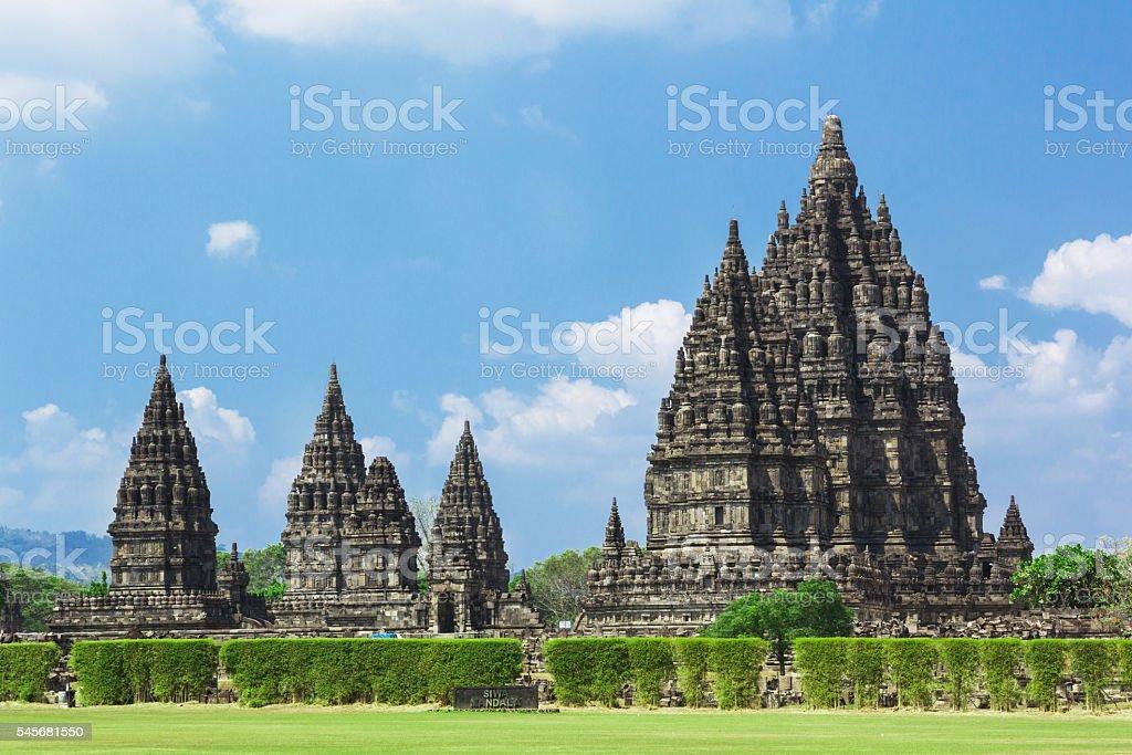 Prambanan temple ,Yogyakarta on Java island, Indonesia stock photo