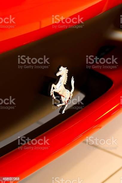 Prancing horse logo on a ferrari 458 italia sports car picture id458537053?b=1&k=6&m=458537053&s=612x612&h=bsllsdl6yd0enujyfyweqgzoz33iptjcocw4pfwli1q=