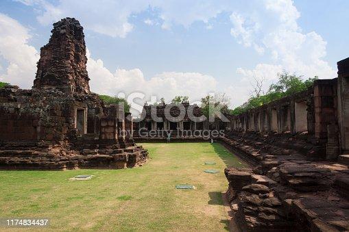 Prasat Hin Phimai historical Park in Nakorn Ratchasima north eastern of Thailand
