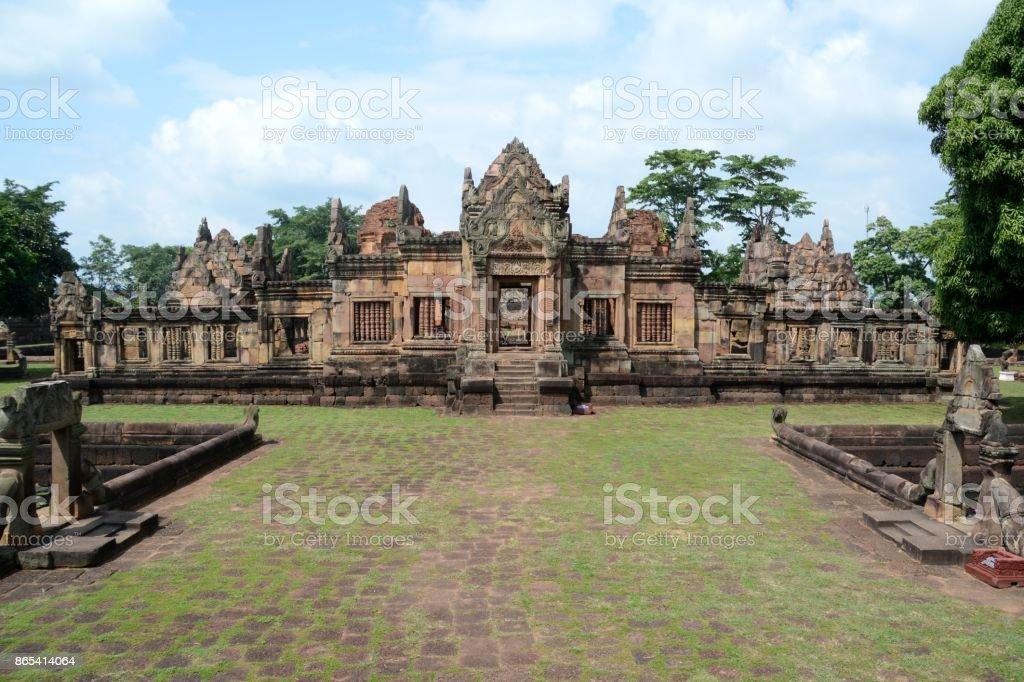 Prasat Muang Tam temple, Buriram province, Isan, Thailand stock photo