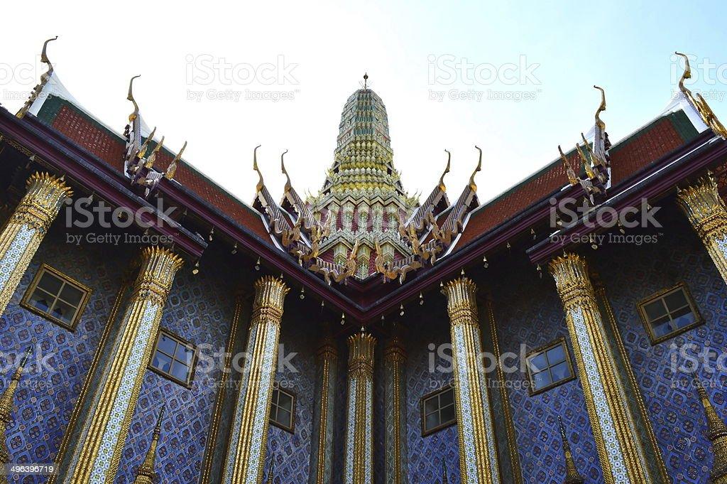Prasat Phra Thep Bidon, Wat Phra Kaew, Thailand foto