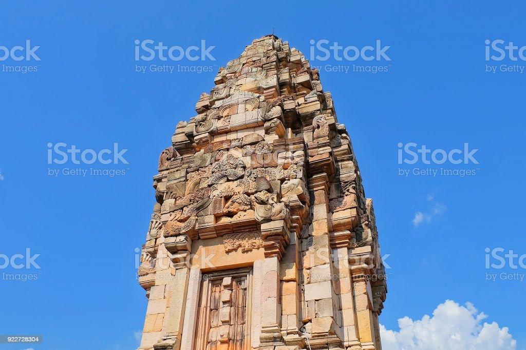 Prasat Sdok Kok Thom, The Historical Park in Thailand stock photo