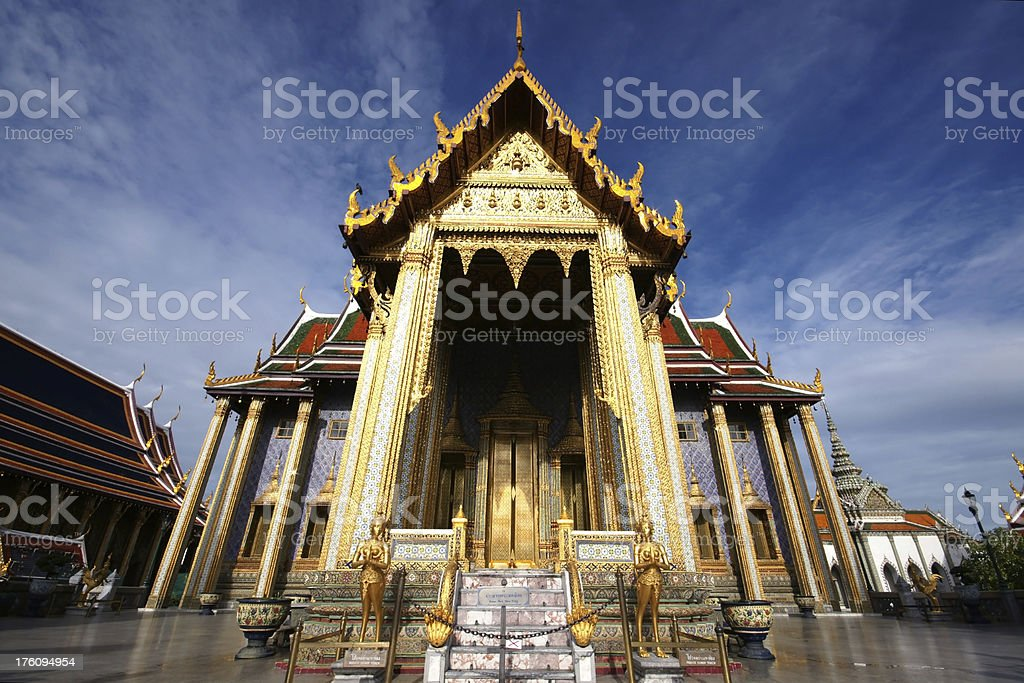 Prasat Thep Bidon at Wat Phra Keow Thailand foto