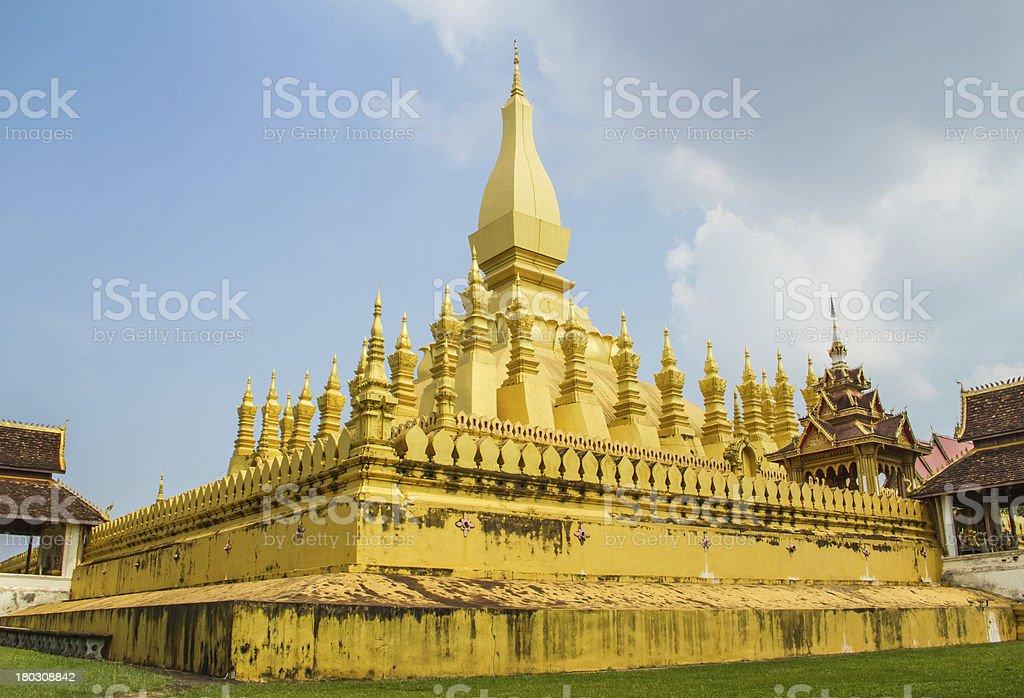Pratat luang pagoda royalty-free stock photo