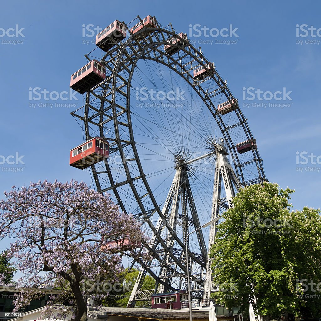 Prater landmark in Vienna, Austria stock photo