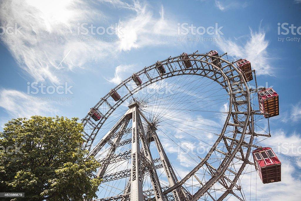 Prater park in Vienna, Austria royalty-free stock photo