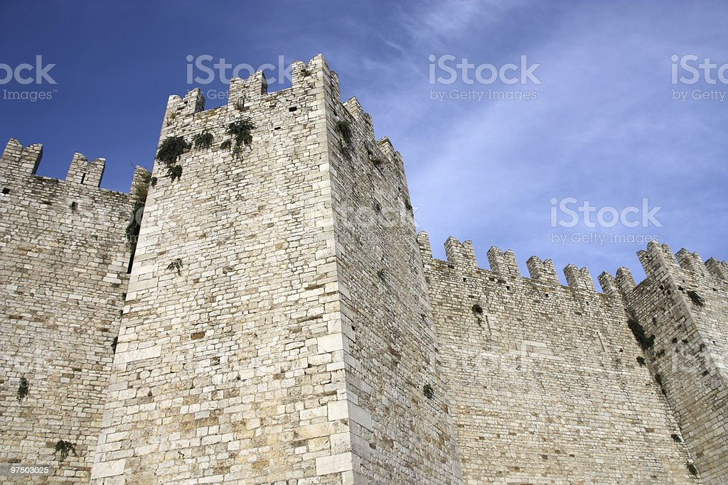 Prato castle royalty-free stock photo