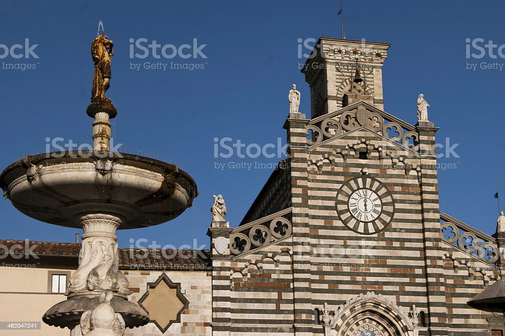 Prato Cathedral royalty-free stock photo