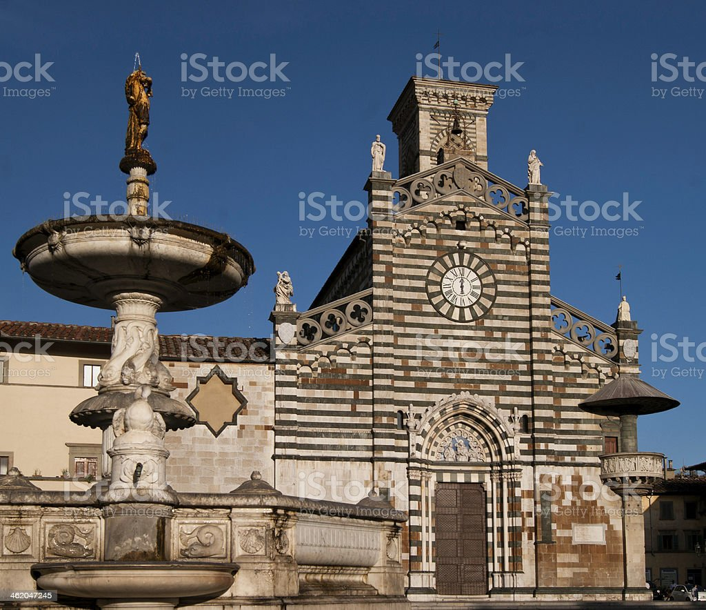 Prato Cathedral sight royalty-free stock photo