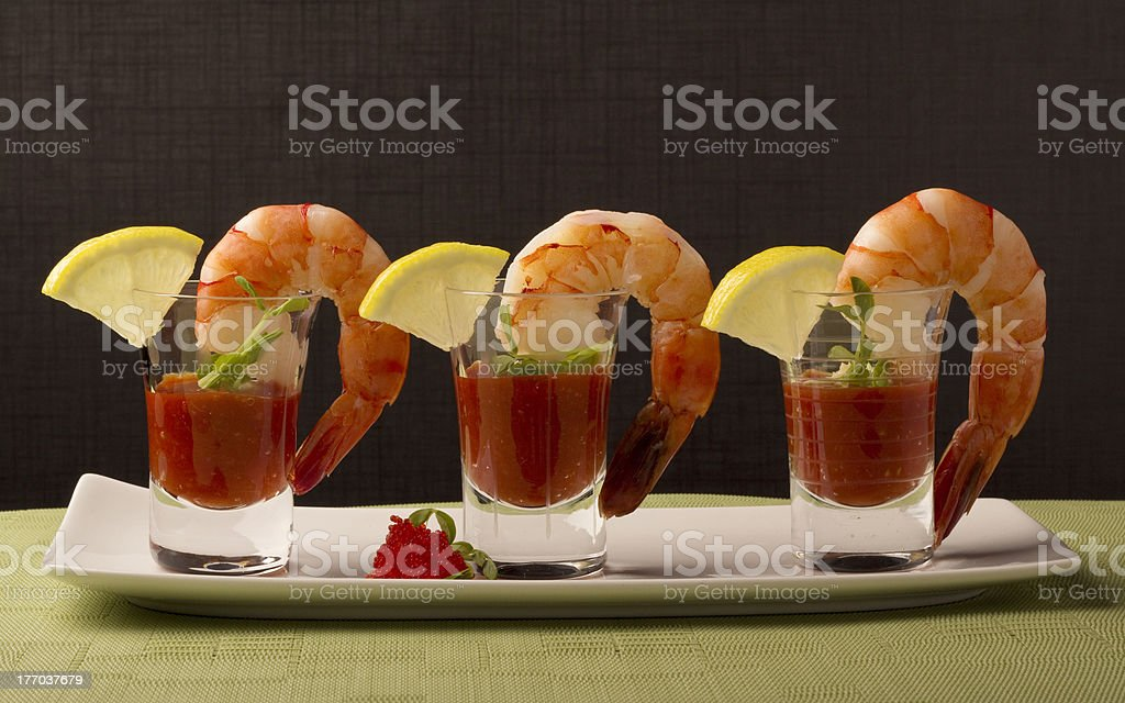 Prawn Cocktail stock photo