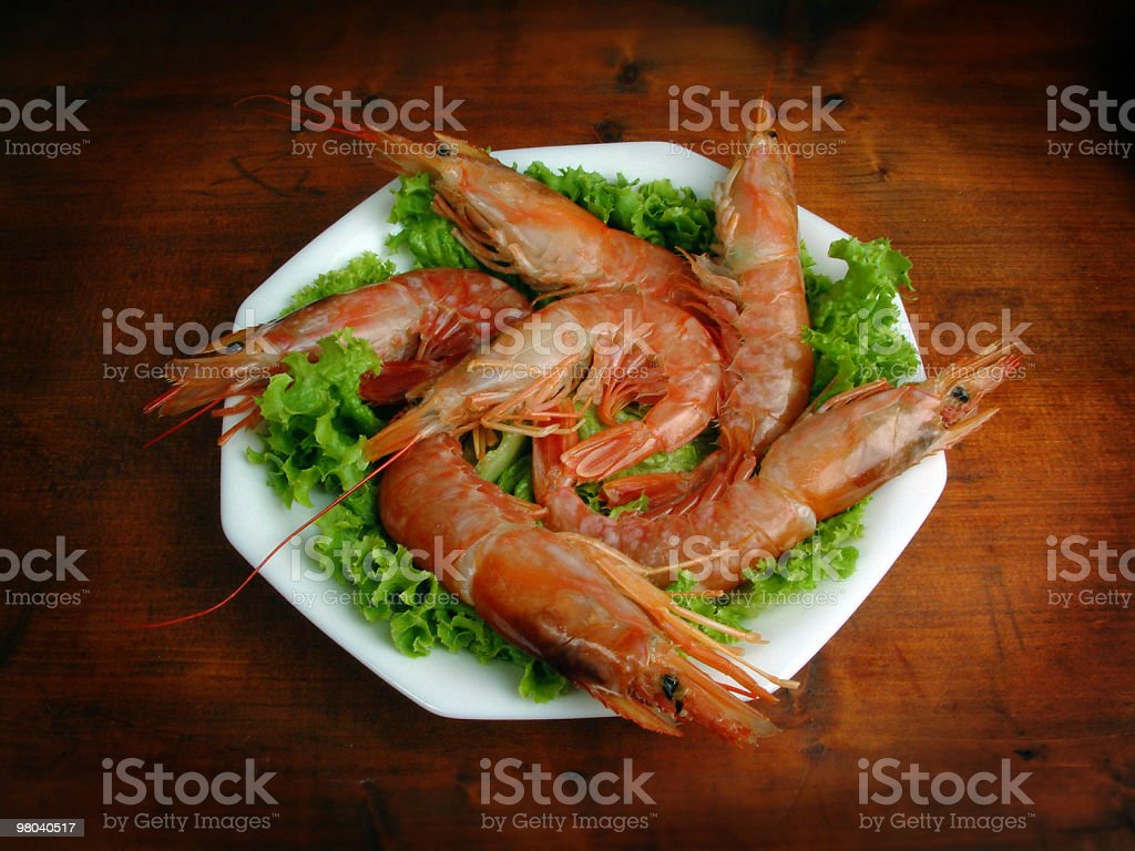 Prawns royalty-free stock photo