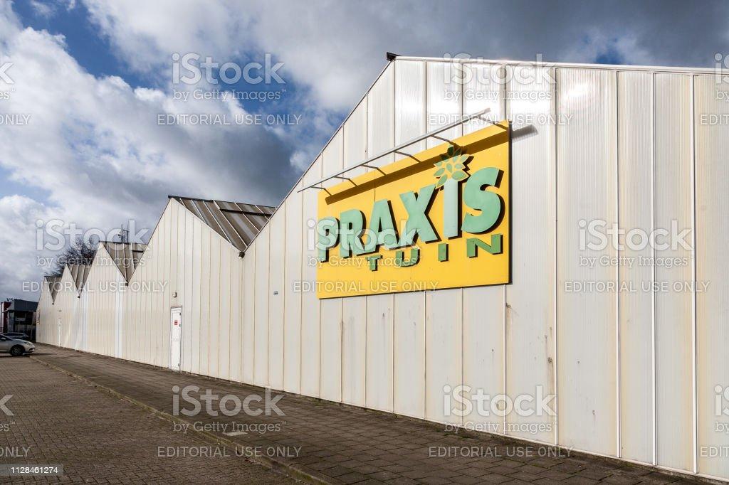 Praxis tuinwinkel in Amersfoort, Nederland-2019 foto