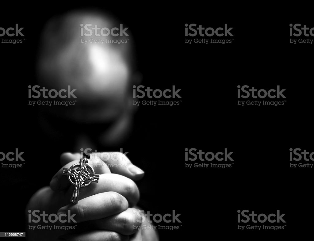 pray 3 royalty-free stock photo