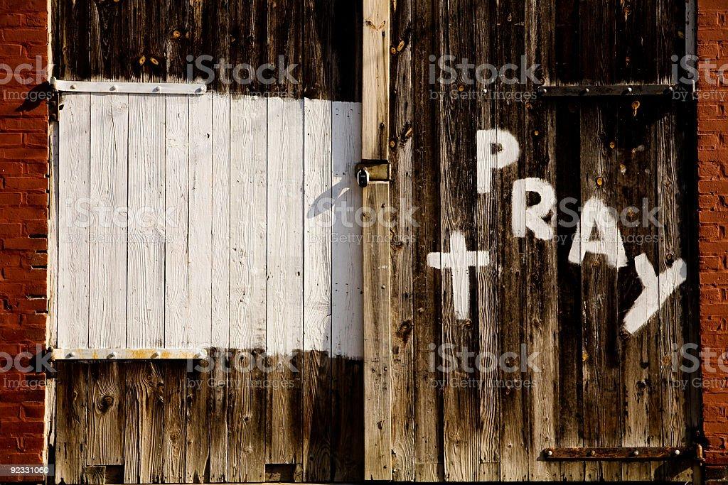 pray  Antique Stock Photo