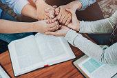 istock pray together 1198058844