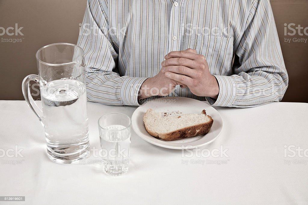 Prayer and Fasting stock photo