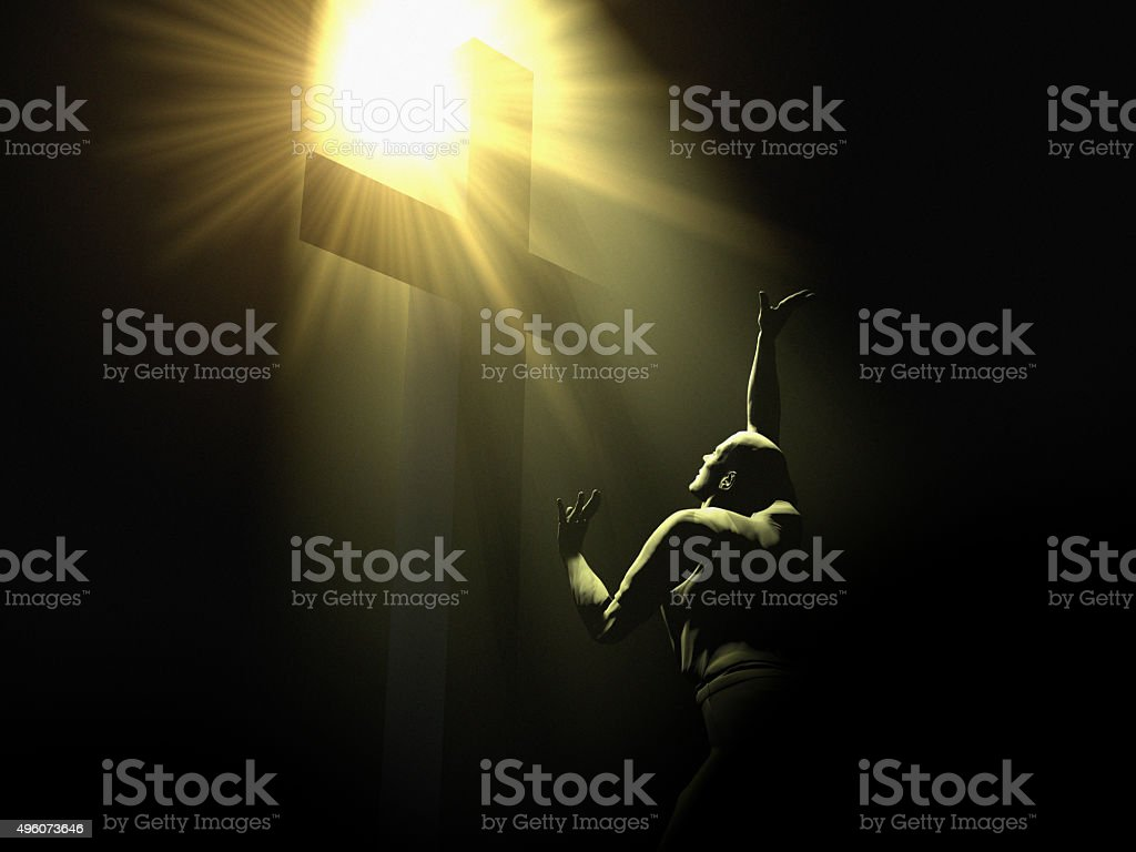 Prayer and Miracles stock photo