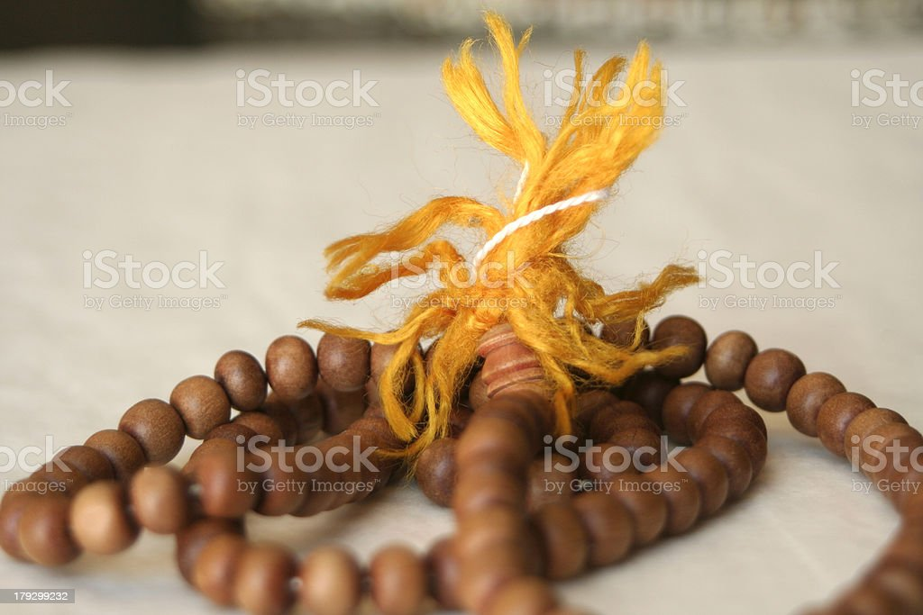 prayer beads royalty-free stock photo