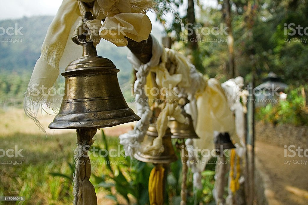 Prayer bells royalty-free stock photo