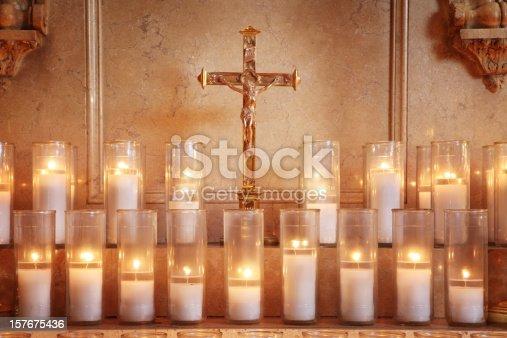 istock Prayer Candles 157675436