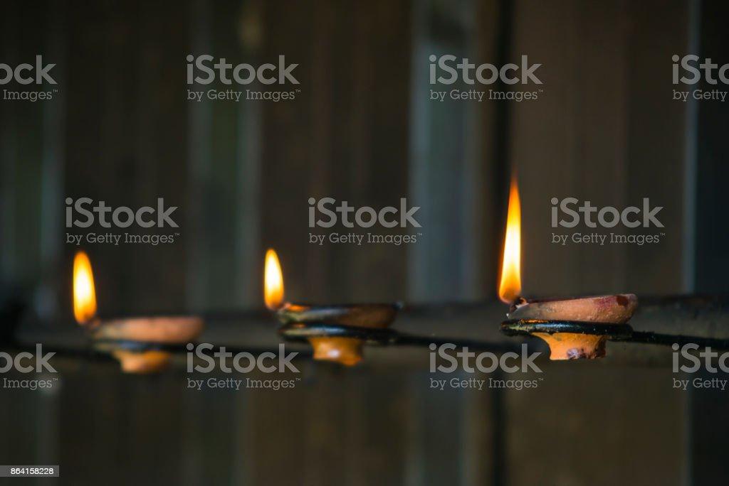 Prayer candles royalty-free stock photo