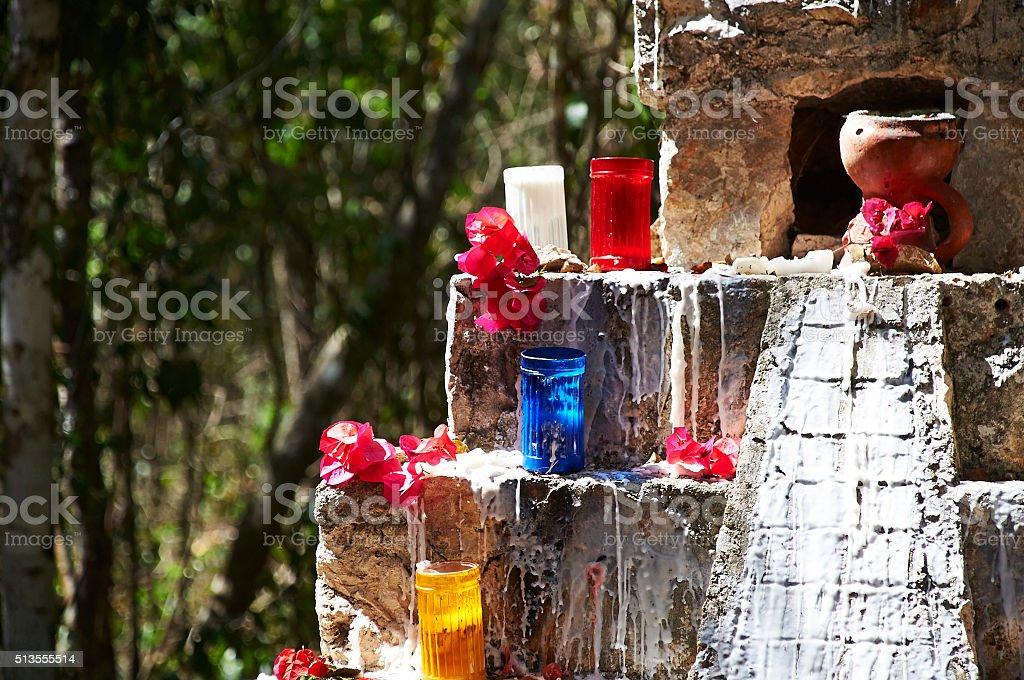 Prayer Ceremony stock photo