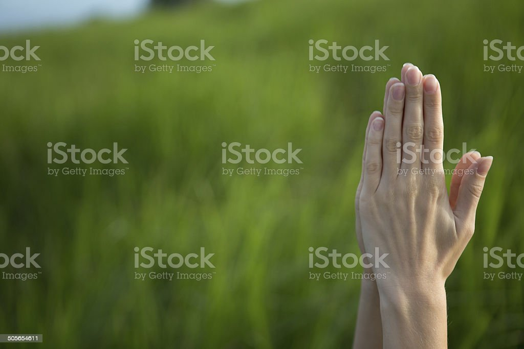 Prayer For Mother Earth Stock Photo - Download Image Now - iStock