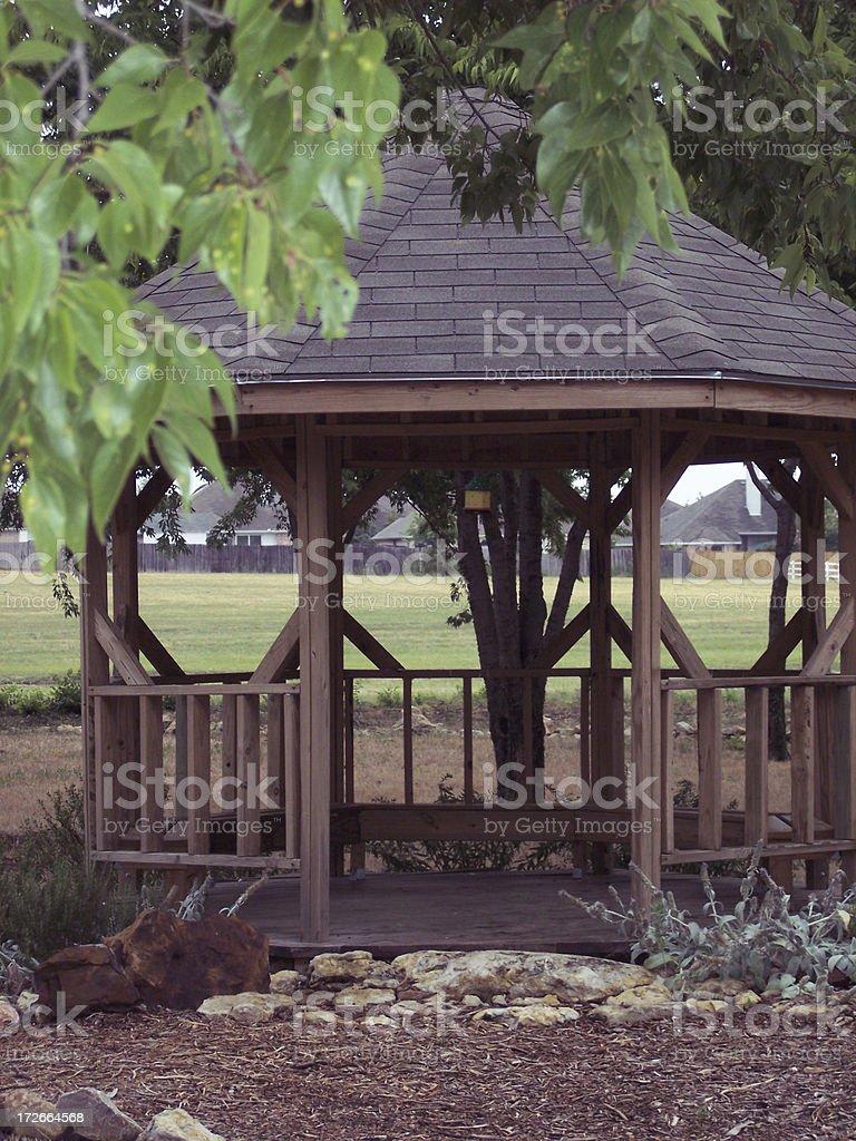 Prayer Garden near the Park royalty-free stock photo
